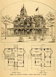 Vintage Victorian House Plans Old Victorian House Plans Large    Vintage Victorian House Plans Old Victorian House Plans Large