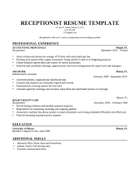 receptionist resume skills medical front office receptionist receptionist resume sample resume examples medical receptionist medical office receptionist resume sample medical receptionist resume sample