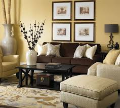 cream wall brown sofa cushion lane  campbell group blend of dark brown sofa with light tan colored c