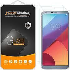Supershieldz [2-Pack LG G6 <b>Tempered Glass</b> Screen Protector, <b>Anti</b> ...
