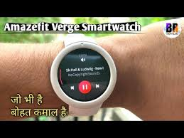 <b>Amazfit Verge Lite</b> Smartwatch Unboxing & Review - YouTube