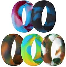 5 Pack Size 5-15 Rubber Silicone Rings Flexible ... - Amazon.com
