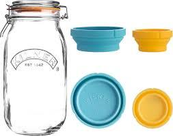 1 250 ₽ <b>Банка для хранения Kilner</b> Clip Top, с мерными чашами, 2 л