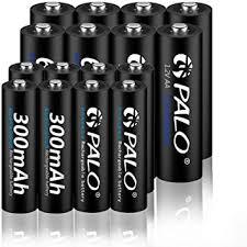 Palo 1.2V NiMH AA and AAA Rechargeable Batteries ... - Amazon.com