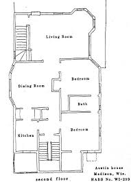 Interesting History  Haunted MadisonAustin House Floor Plan