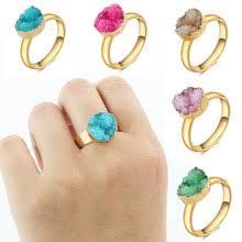 <b>druzy</b> quartz <b>ring</b>