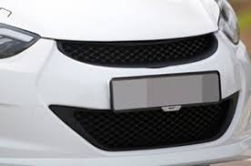 Решетка радиатора <b>Noble</b> Style | Hyundai Elantra 2010-2013 ...