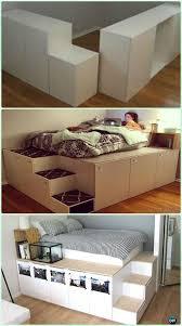 ideas bedroom sizemore ikea hemnes room diy ikea kitchen cabinet platform bed instructions diy space savvy bed