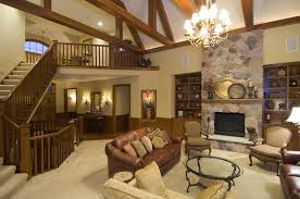 Traditional House Plan Great Room Photo Plan S    House    Traditional House Plan Great Room Photo S