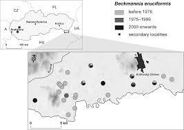 Beckmannia eruciformis (L.) Host In sLovAKIA – dIstrIbutIon ...