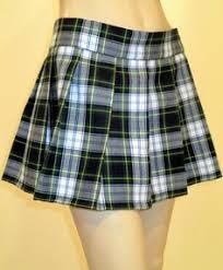 "Dress Gordon Mini Skirt Pleated Plaid 12"" Long Skirt~ST. Patrick ..."