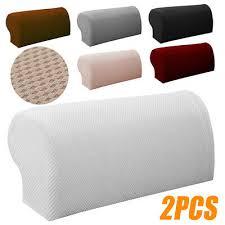 Home, Furniture & <b>DIY 2Pcs Universal</b> Arm Chair Protector Sofa ...