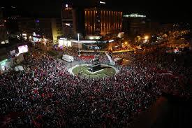 Bursa'da muhteşem kalabalık