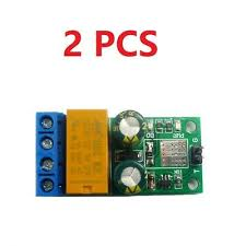 2 PCS <b>DC 5</b>-<b>24V 2A</b> Self-locking bistabl Reverse Polarity Switch ...