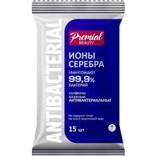<b>Premial Антибактериальные влажные салфетки</b> Серебряная ...