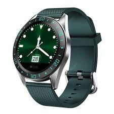 GT105 Smart Watch <b>Bluetooth</b> Sport Smartwatch Heart Rate Blood ...