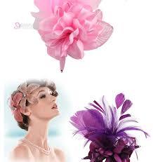 Мода винтаж шпилька для волос двойной ткани ручной работы ...