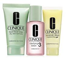 <b>Clinique 3 Step</b> Travel Size <b>Set</b> for Combination Oily to Oily Skin ...