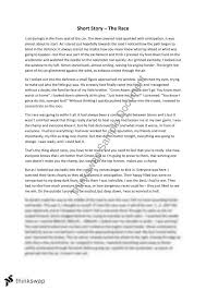 Creative of piece of writing   Short Story   Year    HSC   English