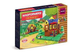 <b>Конструктор Magformers Магнитный Log</b> House Set (87 деталей ...