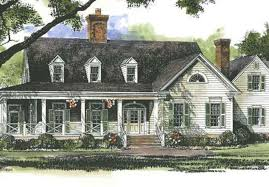 Farmhouse House Plans   Southern Living House PlansSl