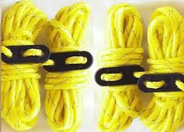 11CD <b>20m Reflective</b> Guyline <b>Tent</b> Rope Rope Fluorescent Cord ...
