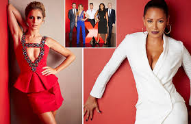 cheryl cole and mel b smoulder in new x factor shoot as they view gallery