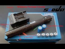 Real <b>high Power</b> blue Laser Pointer 1000MW - burning match etc ...