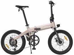Купить <b>Электровелосипед</b> складной <b>Xiaomi HIMO Z20</b>, бежевый ...