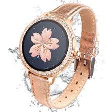 Luxury <b>M8 Smart Watch Women</b> Gold Milanese Smart Bracelet ...