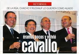 Mingo Cavallo y el FMI van por Grecia !!