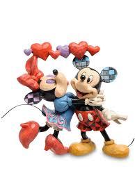 Статуэтка <b>Микки</b> и Минни Маус (Аромат любви) <b>Disney</b> Traditions ...