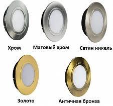 Каталог Мебельный <b>светильник LED Polus</b>, врезной, круглый ...