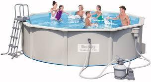 <b>Бассейн BestWay</b> Hydrium <b>Pool</b> Set 460х120см стальной <b>56384</b> BW