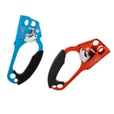 <b>Outdoor</b> Climbing <b>4KN</b> Orange Left & Blue Right Hand <b>Ascender</b> for ...