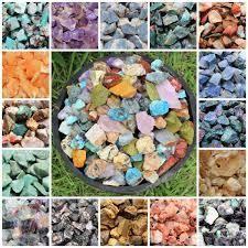 <b>Raw Rough Natural</b> Stones: Choose Type (Gemstone Reiki Crystal ...