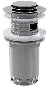 <b>Донный клапан для раковины</b> Alcaplast A391 click/clack с малой ...