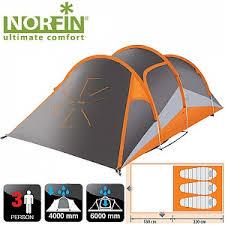 <b>Палатка алюминиевые дуги 3-х</b> местная Norfin HELIN 3 ALU NS ...