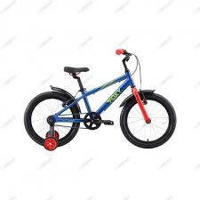 Детский <b>велосипед Stark</b>'19 <b>Foxy 18</b> синий/зелёный/красный ...