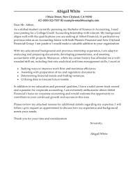 Smartness Inspiration Accounting Internship Cover Letter 15 Best