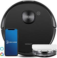 <b>Ecovacs DEEBOT</b> OZMO <b>T8</b> AIVI Robot Vacuum & Mop Cleaner ...