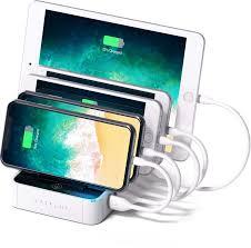 Зарядная <b>док</b>-<b>станция Satechi</b> 5-Port USB <b>Charging Station</b> Dock ...
