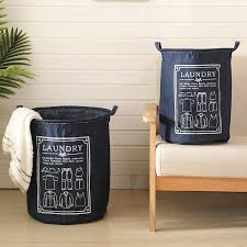 Laundry Basket    Receive large <b>Nordic denim clothes</b> dirty <b>wind</b> ...
