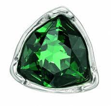 Купить <b>Кольцо</b> «Star-Tremendous» Зеленый ручной работы в ...
