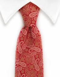 Navy & Raspberry Red <b>Paisley Necktie</b> | <b>Gentleman Tie</b> Combos ...