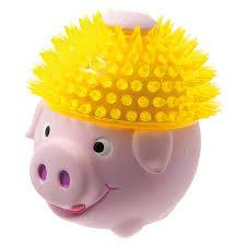 """Игрушка латекс """"<b>Свинка в шапке из</b> TPR"""" 11 см / ИГРУШКИ ..."""