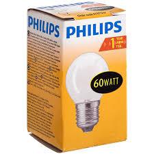 <b>Лампа накаливания Philips</b>, <b>60 Вт</b> | Магнит Косметик