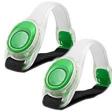 <b>2pcs</b>/pack KEKU LED Light <b>Bright</b> Armband, Silicone <b>Reflective</b> ...