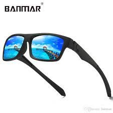 <b>BANMAR</b> Eyewear Reflective Coating <b>Square Men</b> Polarized ...