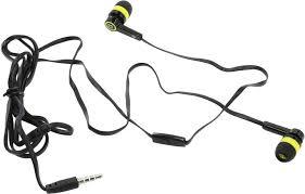 <b>Defender Наушники</b> с микрофоном <b>Pulse 420</b> yellow; 4-пин 3,5 мм ...